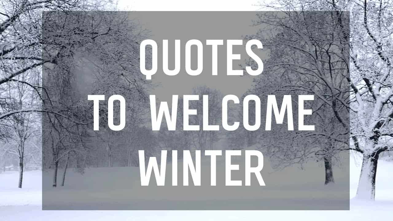 quotes about love and winter