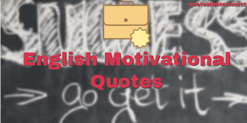 English Motivational Quotes