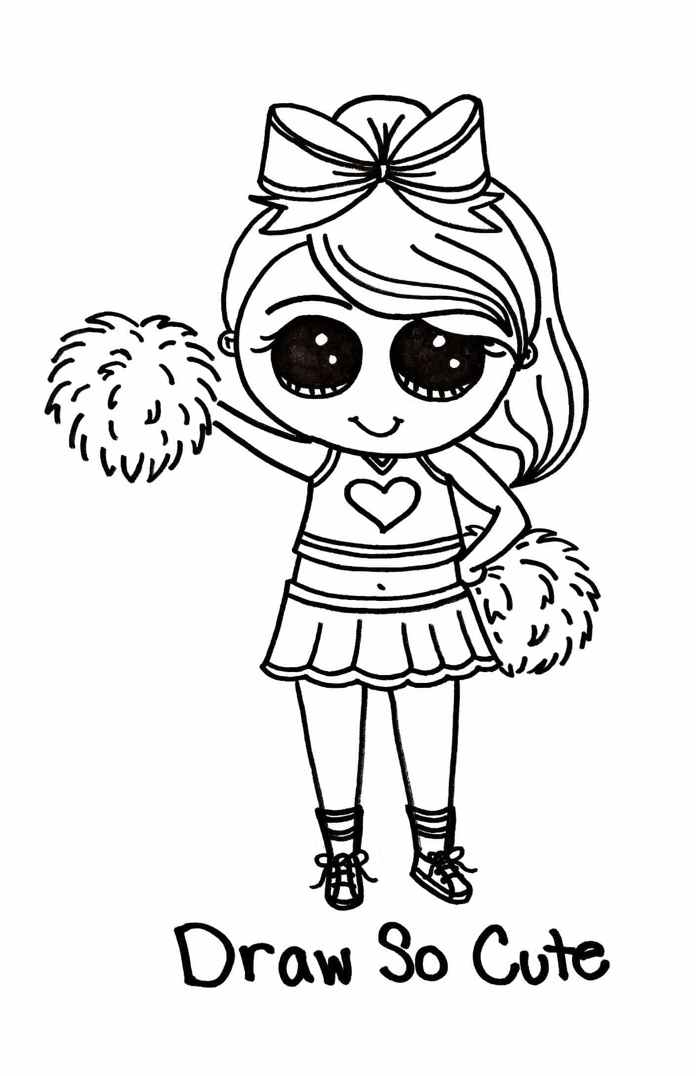 Cute Coloring Pages For Easter New Easter Draw So Cute Coloring Pages Printable Fresh Draw So Cute Cheerleader Tipsy Scribbles A Picture Says A Quotes That Connect