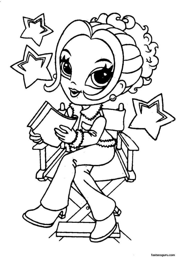 Free Printable Cute Coloring Pages for Girls - quotes that ...